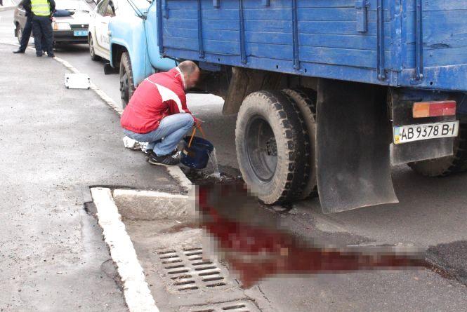 На Тяжилові водій вантажівки насмерть збив 10-річного велосипедиста (ФОТО)