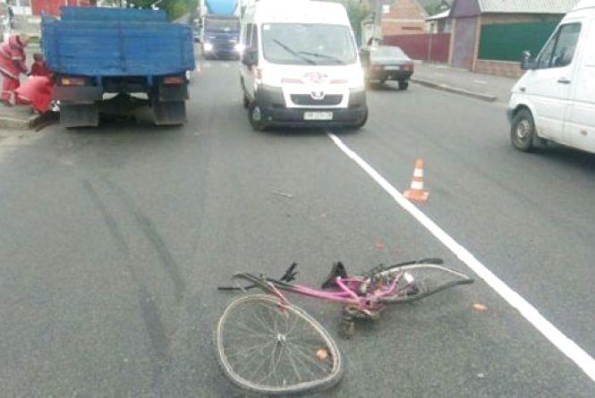 На Ватутіна у ДТП загинув 10-річний велосипедист