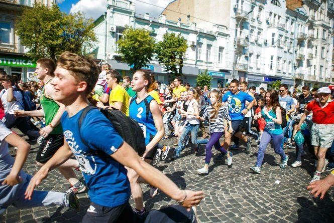 Серед учасників «Вінниця біжить» розіграють подорож на двох до Австрії та Угорщини