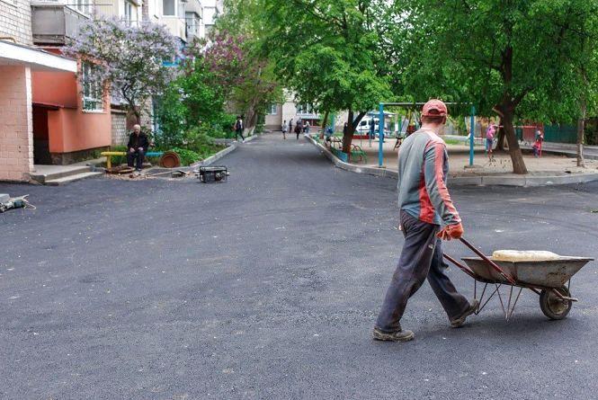 В 2017 році у Вінниці заплановано заасфальтувати 43 двори