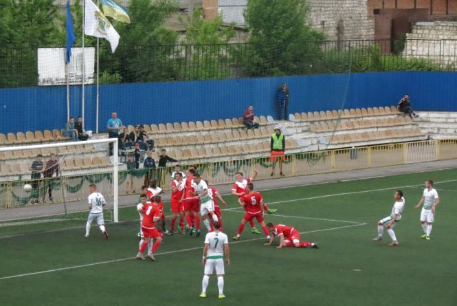 «Нива-В» дома сыграла вничью с «Арсеналом-Киевщиной»