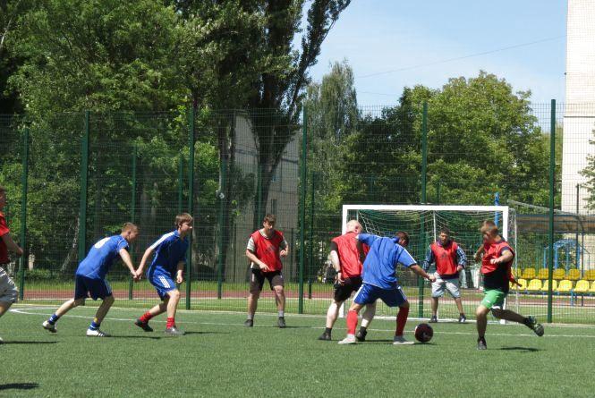 У Вінниці пройшла Спеціальна Олімпіада з футболу. Переможених не було