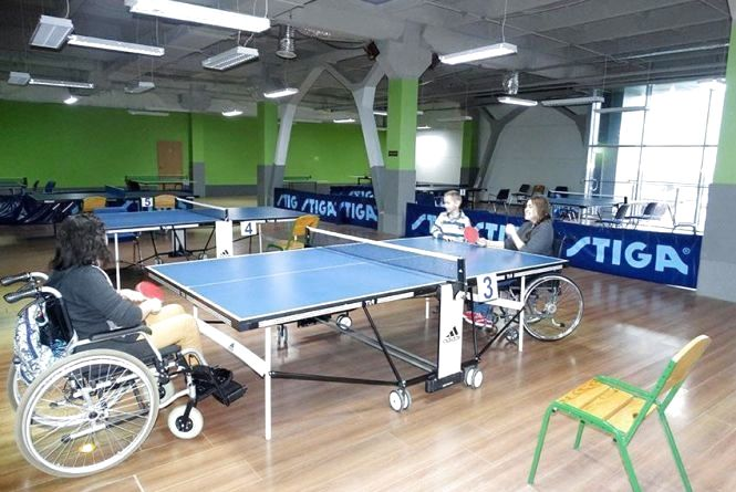 Спартакіада особливих вінничан: теніс, баскетбол та перегони на візках