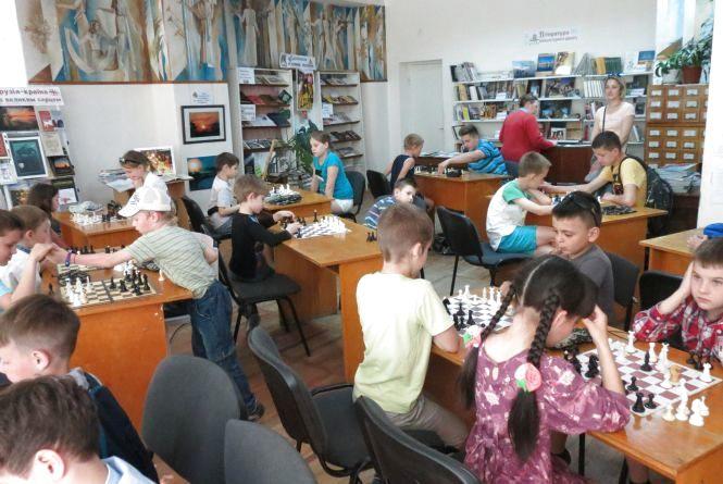 Міський турнір серед шахових вундеркіндів провели у бібліотеці
