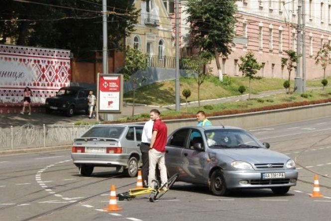 Площа Гагаріна отримала «першість» за кількістю аварій з початку року