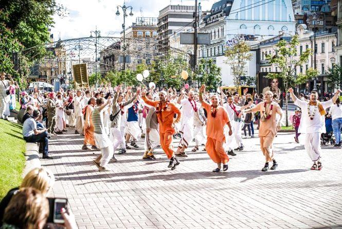 Кришнаїти пройдуться маршем 4-5 липня в двох районах мiста