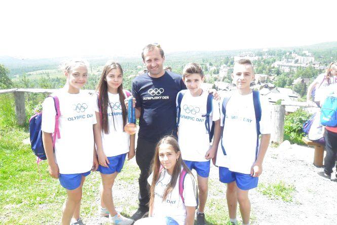 Кращі спортсмени Вінницької школи № 27 відпочили у Олімпійському дитячому таборі у Словаччині