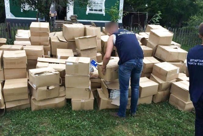 На Вінниччині виявили цех де виготовляли та розливали фальсифікований алкоголь
