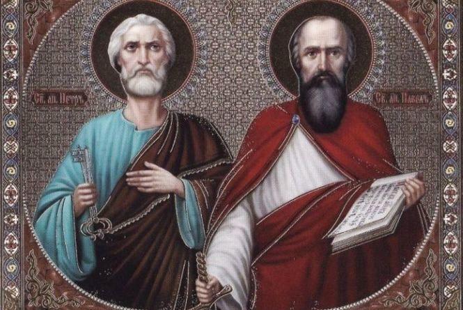Сьогодні - святих Петра і Павла: Що не можна роботи в цей день