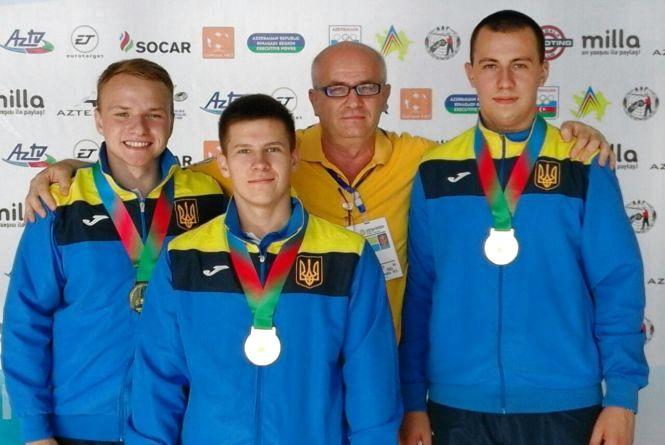 Вінницькі стрільці перемогли на чемпіонаті Європи!