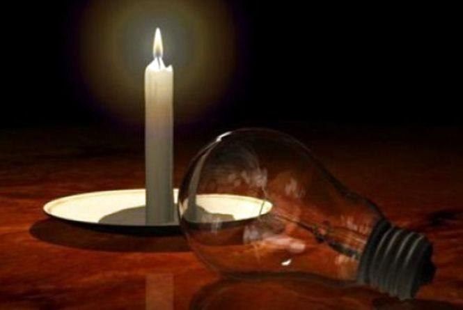 В середу мешканці вінницького хутору дев'ять годин сидітимуть без світла