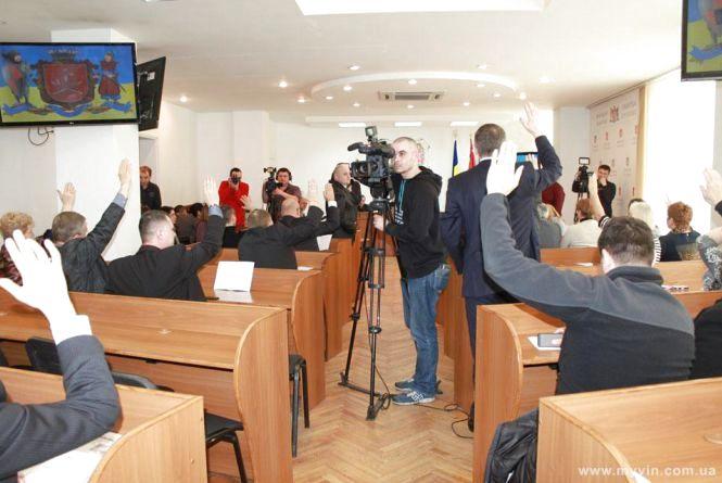 Як голосують депутати вінницької міської ради та хто прогулює сесії?