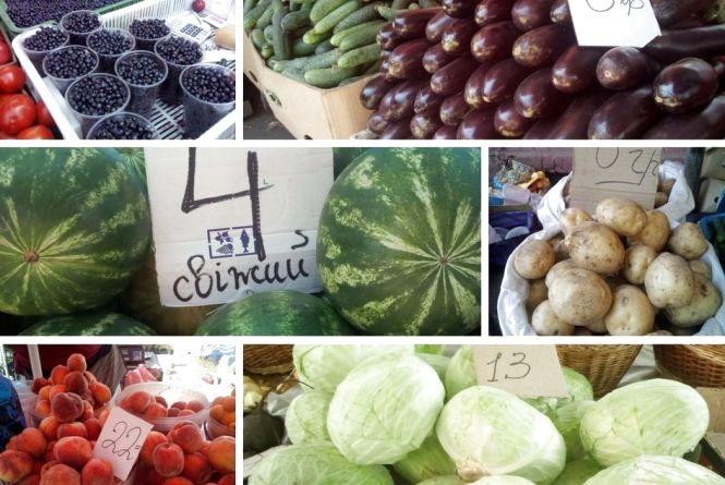 Сезон—2017. Де в Вінниці було вигідніше купувати фрукти і овочі в липні