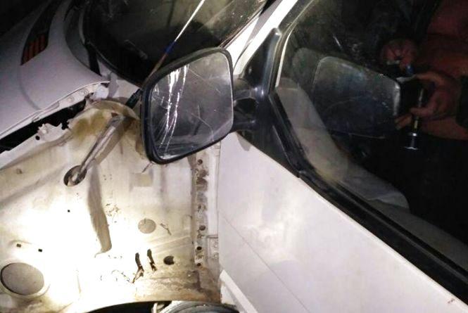 П'яний водій на «Volkswagen» протаранив паркан по Московській та втік