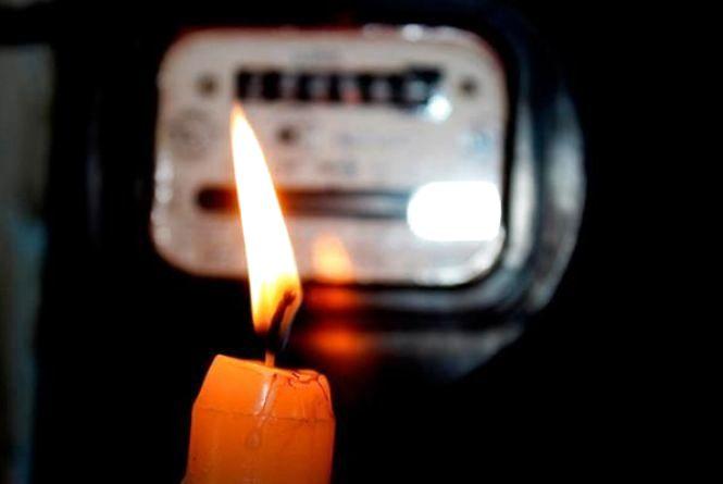 Завтра мешканці п'яти вулиць дев'ять годин сидітимуть без світла