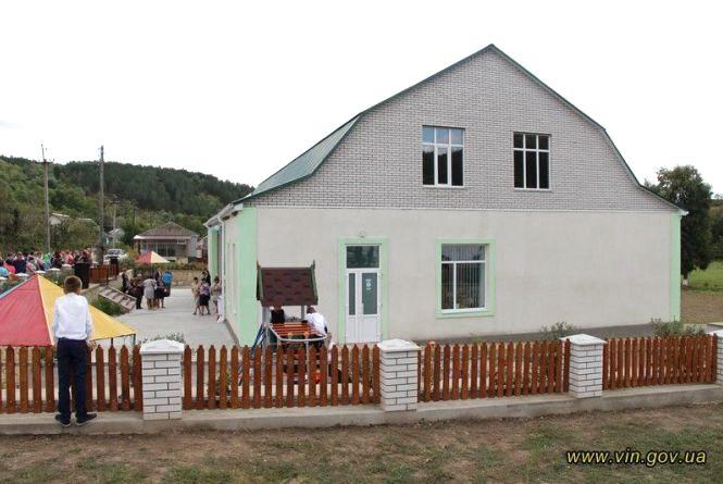В селі Галайківці відкрили новий дитячий садочок для понад 30 малят