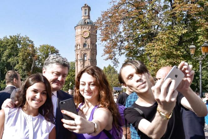 Сьогодні в Вінницю їде Президент Порошенко — на свято День міста