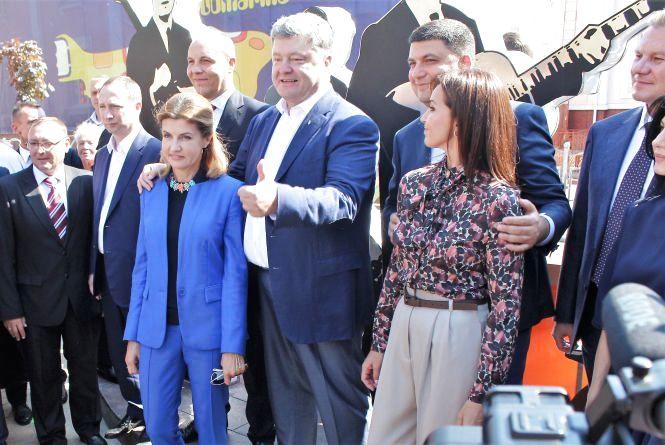 «Бітлз - це наше все!». Петро Порошенко приїхав на День Вінниці