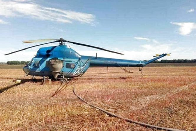 На Вінниччині агронома порізало гвинтом вертольоту. Чоловік загинув