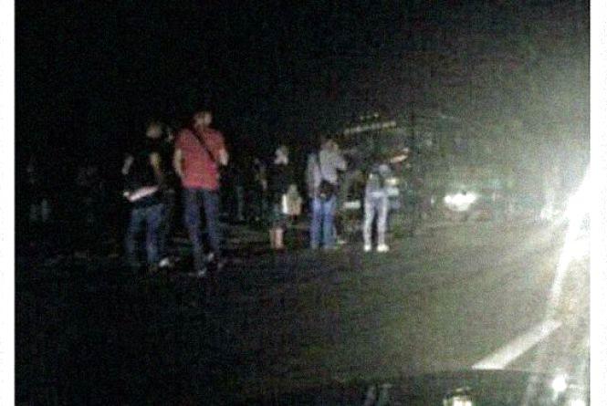 П'ята аварія на Стрижавському мосту: зіткнулися «бусик» Ford та автобус Mercedes