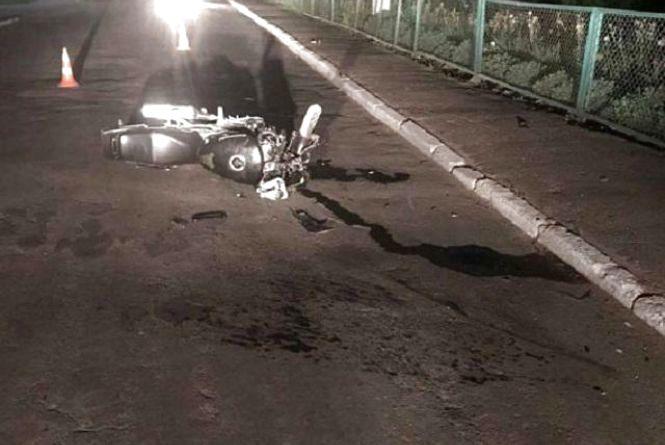14-річний мотоцикліст врізався в паркан, а водій «дев'ятки» перекинувся