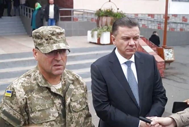 Міський голова та очільник облдержадміністрації про ситуацію на військовому арсеналі