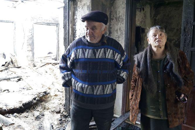 Репортаж з-під Калинівки: «Гради» в городі і потрощені будівлі