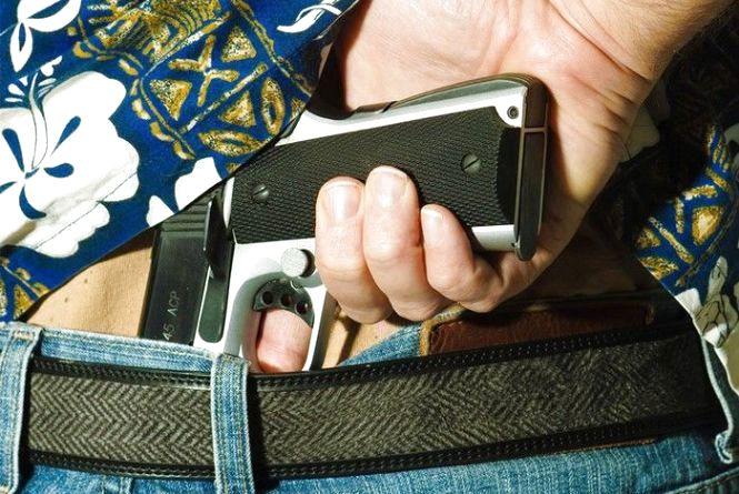 Здайте зброю добровільно. У жовтні поліція обіцяє за «ліві стволи» не карати