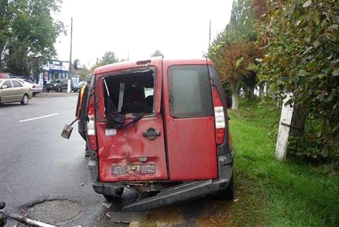 В Браїлові в припаркований «Фіат» врізався мотоцикліст. Кажуть, був п'яний