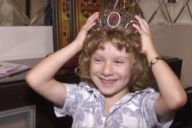 У Вінниці мешкає шестирічний Давид - титулований маленький принц світу