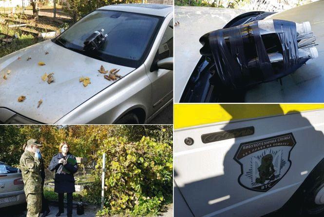Машину журналіста вінницького «Дорожнього контролю» намагалися спалити
