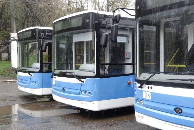 Тролейбуси за п'ятьма маршрутами від завтра змінять свій рух