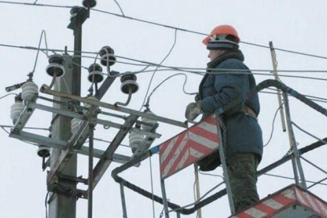 Графік планового відключення світла у Вінниці з 30 жовтня по 5 листопада