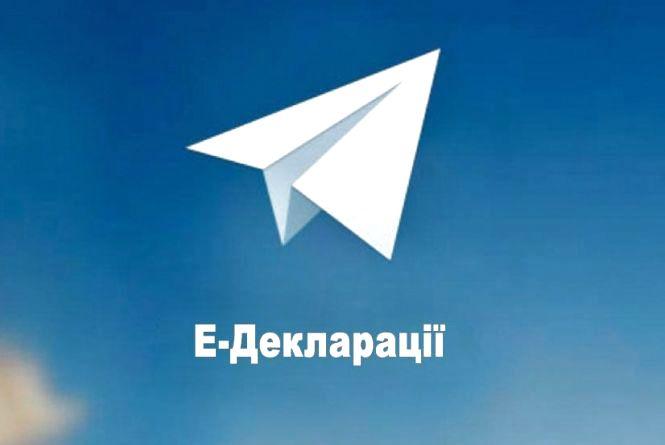 У Телеграмі з'явився бот Тарас, який допомагає заповнювати е-декларації