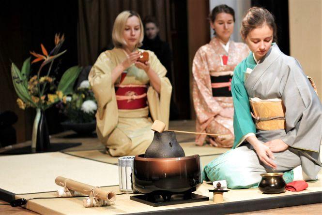 Чайна церемонія у філармонії: «Японський чай схожий на картопляне пюре»