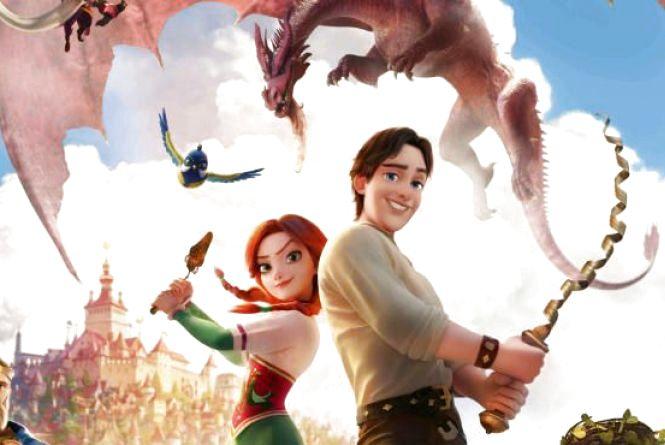 Герої в новому мультфільмі: Хом'як Вінницький та карлик Чорномор