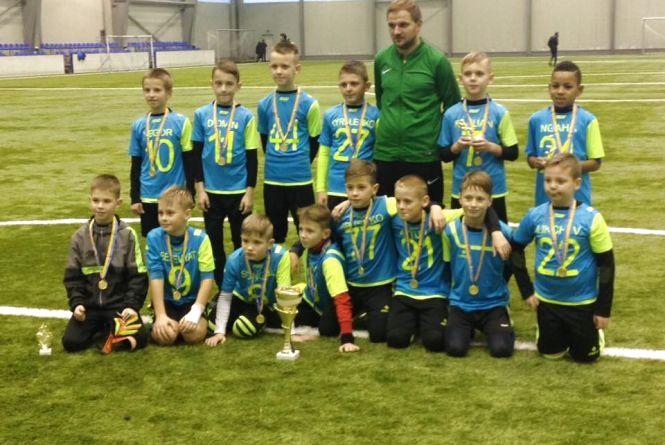 Вінничанин Ростислав став кращим футболістом турніру «Christmas Cup»