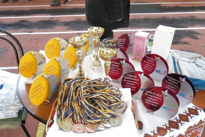 На Кубку Поділля нагородили найкращих легкоатлетів Вінниччини 2017 року