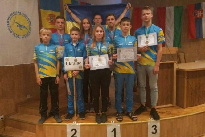Винничане — радио-ориентировщики — снова Чемпионы Европы!