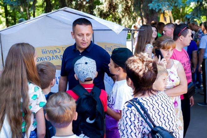 Сергій Кудлаєнко підтримав благодійну акцію для дітей учасників АТО (Прес-служба Сергія Кудлаєнка)