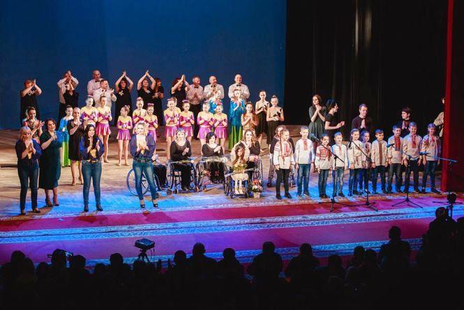 «Пори року або Yes,I can»: вінничани створили перший в Україні інклюзивний спектакль