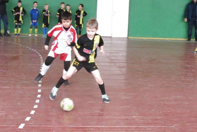 «Темп» утримує лідерство в чемпіонаті області з футзалу серед наймолодших