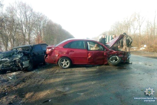 ДТП вихідних: п'ять автопригод та десять постраждалих