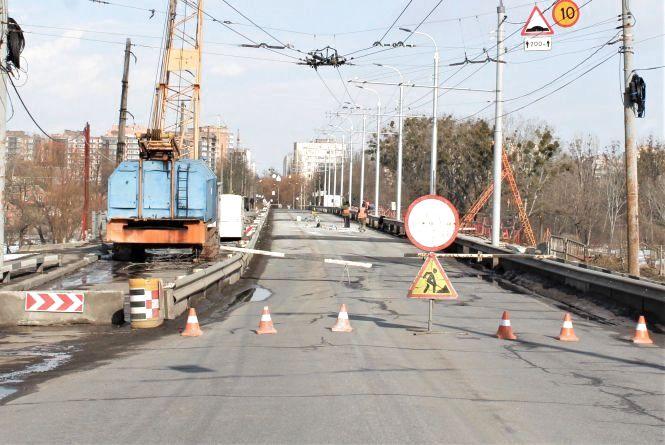Київський міст планують перекривати. Коли закінчать ремонт?