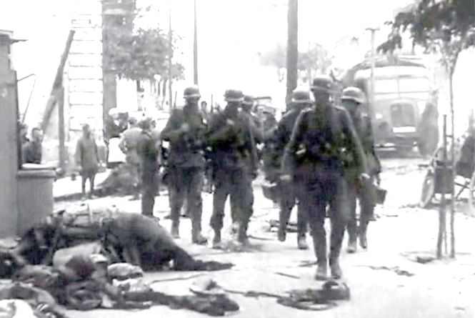 Як Вінниця переживала війну: фото та відео з окупованого фашистами міста
