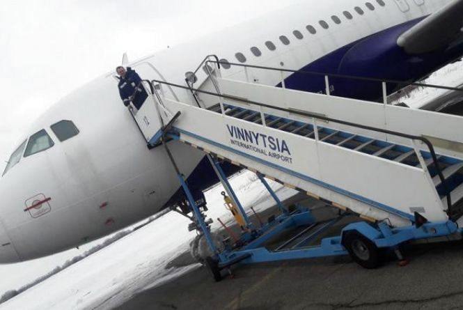 На сьогодні змінили розклад авіарейсу «Бориспіль - Вінниця - Бориспіль»