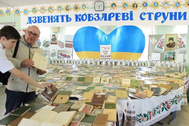 Розкупили всі «Кобзарі» Шевченка у книгарні на Вінниччині. Для чого?