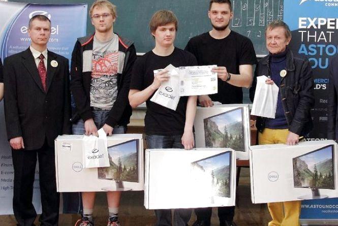 «Важливо, щоб комп'ютер не «сачкував»: TreeS переможець олімпіади з програмування