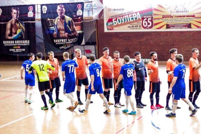 Команда 20minut.ua United рвется ко второму подряд золоту IT лиги по футзалу