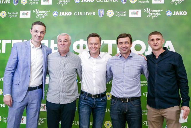 Шевченко і його легендарні колеги знову зіграють в футбол (прес-служба «Інтер»)